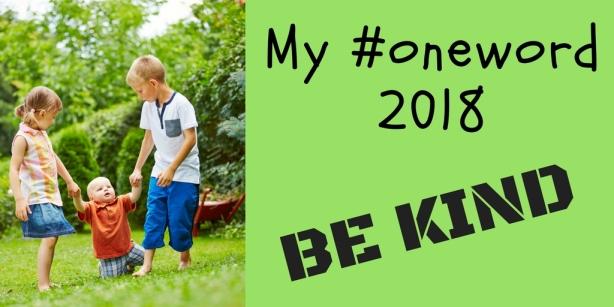 My #oneword